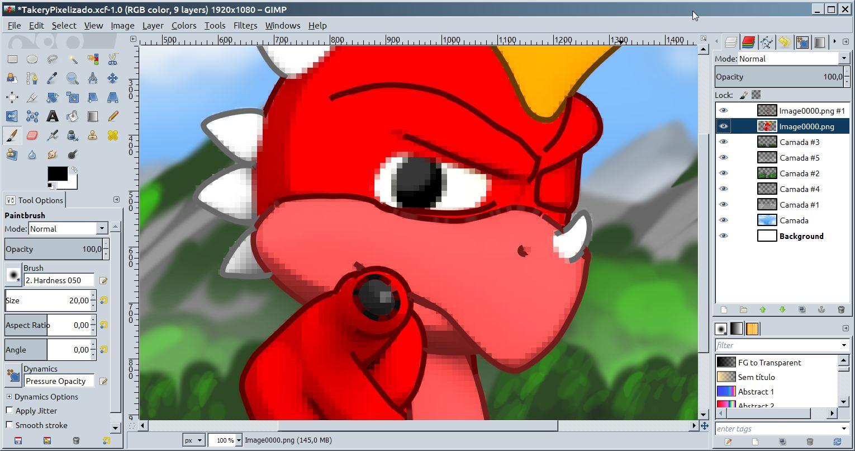 Gimp Pixelize - CG EpicCG Epic